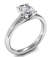 prong engagement ring